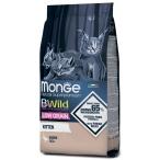 Корм Monge BWild Goose (низкозерновой) для котят, с мясом гуся, 1.5 кг