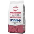 Корм Monge Monoprotein Sterilised Beef для стерилизованных кошек, с говядиной, 1.5 кг