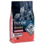 Корм Monge BWild Deer (низкозерновой) для щенков всех пород, оленина, 12 кг