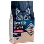 Корм Monge BWild Goose (низкозерновой) для собак, гусь, 12 кг