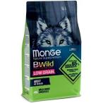 Корм Monge BWild Wild Boar (низкозерновой) для собак, дикий кабан, 12 кг