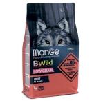 Корм Monge BWild Deer (низкозерновой) для собак, олень, 2,5 кг