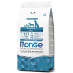 Корм Monge Monoprotein Trout & Rice and Potatoes для собак, форель с рисом и картофелем, 2,5 кг