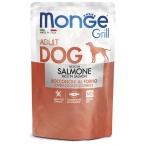 Корм Monge Grill Pouch Salmon (консерв.) для собак, с лососем, 100 г