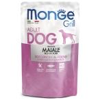 Корм Monge Grill Pouch Pork (консерв.) для собак, со свининой, 100 г