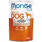Корм Monge Grill Pouch Duck (консерв.) для собак старше 7 лет, с уткой, 100 г