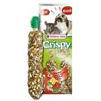 Лакомство Versele-Laga палочки для кроликов и шиншилл Crispy с травами 2х55 г