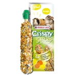 Лакомство Versele-Laga палочки для морских свинок и шиншилл Crispy с цитрусовыми 2х55 г
