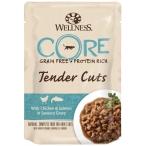 Корм Wellness CORE Tender Cuts (в соусе) для кошек, курица с лососем, 85 г