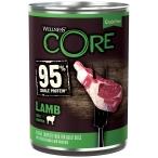 Корм Wellness CORE 95 (консерв.) для собак, ягненок с тыквой, 400 г