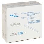 ACM шприц 1 мл, инсулиновый, одноразовый, U-100, 100 шт (MedAim LLC)