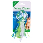 """Feline Clean (Aromadog) игрушка для кошек """"Мяч из каната"""", лента и перья"""