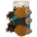 """Petpark (Aromadog) игрушка для кошек """"Рыбки"""", 3 шт"""