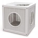 Bama Pet домик для кошек Qublo, белый