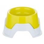 Bama Pet миска пластиковая Mimi, 650-360 мл, желтая