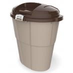 Bama Pet контейнер для хранения корма DADO ECO, 60л, бежевый