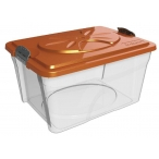 Bama Pet контейнер для хранения корма SIM BOX, 18л, прозрачный