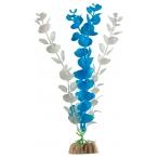 GloFish растение пластиковое с GLO-эффектом, размер L, синий с белым