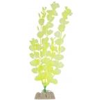GloFish растение пластиковое флуоресцентное, размер L, желтый