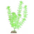 GloFish растение пластиковое флуоресцентное, размер L, зеленый