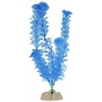 GloFish растение пластиковое флуоресцентное, размер L, синий