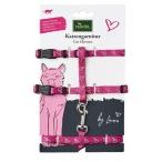 Hunter шлейка для кошек By Laura, розовая