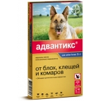 Bayer Адвантикс 400 С для собак свыше 25 кг (4 пипетки х 4 мл)