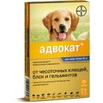 Bayer Адвокат 400 для собак 25-40 кг (3 пипетки х 4 мл)