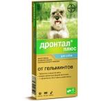 Bayer Дронтал плюс со вкусом мяса для собак 6 таб.