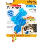 """Petstages набор из двух игрушек для собак мелких пород """"ОРКА косточка+гантеля"""" ультра-мини"""