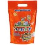 PrettyCat наполнитель древесный с морковными чипсами для грызунов и птиц, 6 л