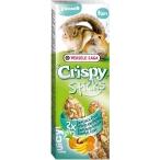 Versele Laga палочки для хомяков и белок Crispy с экзотическими фруктами 2х55 г