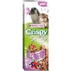 Versele Laga палочки для кроликов и шиншилл Crispy с лесными ягодами 2х55 г