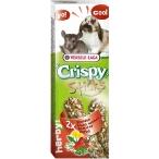 Versele Laga палочки для кроликов и шиншилл Crispy с травами 2х55 г