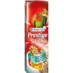 Versele Laga палочки для средних попугаев Prestige с экзотическими фруктами 2х70 г