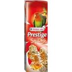 Versele Laga палочки для средних попугаев Prestige с орехами и медом 2х70 г