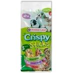 Versele Laga палочки для травоядных грызунов Crispy микс с овощами, ягодами и травами 2х55 г, 1х50г