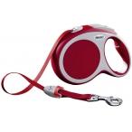 Flexi рулетка VARIO L (до 50 кг) 8 м лента красная