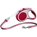 Flexi рулетка VARIO S (до 12 кг) 5 м трос красная