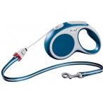 Flexi рулетка VARIO S (до 12 кг) 5 м трос синяя