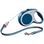 Flexi рулетка VARIO S (до 12 кг) 8 м трос синяя