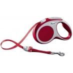 Flexi рулетка VARIO S (до 15 кг) 5 м лента красная