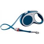Flexi рулетка VARIO S (до 15 кг) 5 м лента синяя
