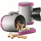 Flexi VARIO аксессуар Multi box S-M/L (бокс для лакомств/пакетиков д/сбора фекалий) розовый