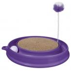 Hagen когтеточка Play-n-Scratch круглая, фиолетовая