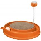 Hagen когтеточка Play-n-Scratch круглая, оранжевая