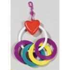 Hagen игрушка для птиц - сердечко с кольцами