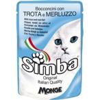 Корм Simba Cat Pouch паучи для кошек форель с треской, 100 г