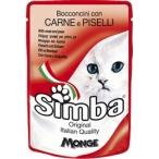 Корм Simba Cat Pouch паучи для кошек мясо с горохом, 100 г