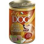 Корм Special Dog консервы для собак паштет курица с кроликом, 400 г